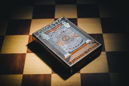 Gnostic - Rose Gold/Black by Legends Playing Card Company