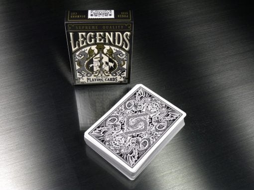 SOLD OUT Legends V2.0 - Exclusive Metallic Black - Single Deck $7.95 pstpd in US