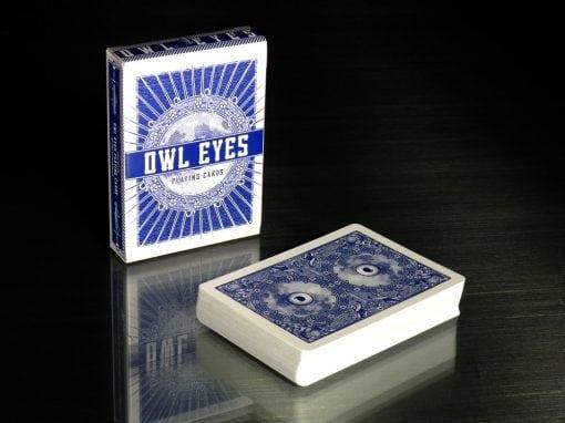 Owl Eyes by George Hage- MIDNIGHT BLUE