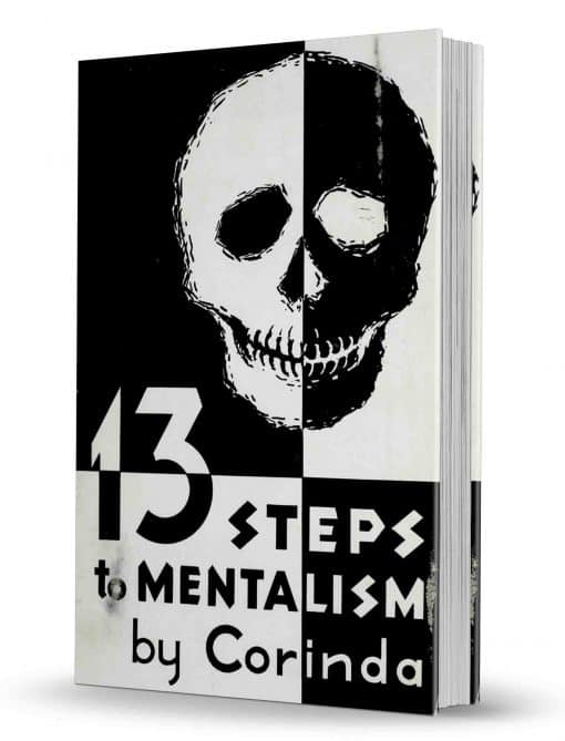 13 Steps to Mentalism by Tony Corinda Text-Based PDF with Bookmarks