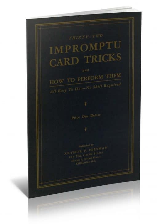 Thirty-Two Impromptu Card Tricks and How to Perform Them PDF