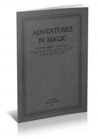 Adventures in Magic by Henry Ridgley Evans PDF