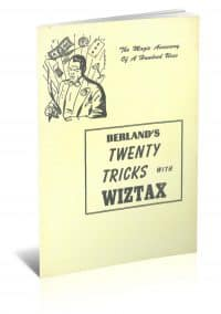 Berland's Twenty Tricks with Wiztax by Samuel Berland PDF