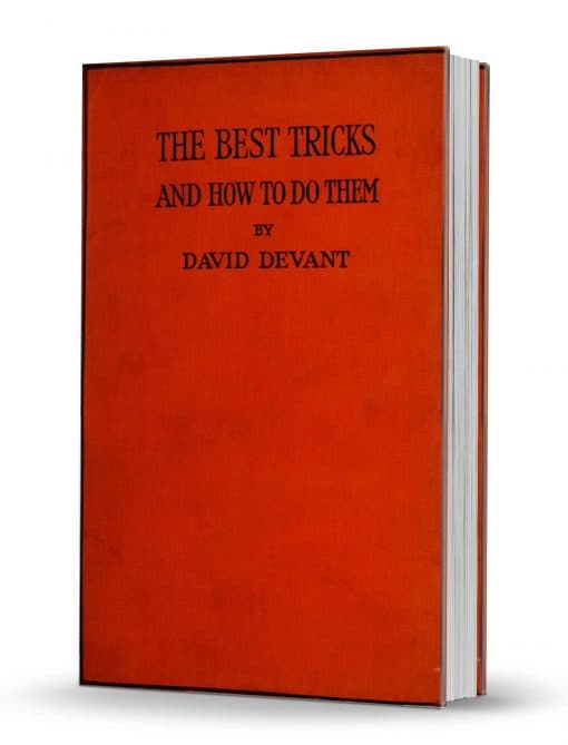 The Best Tricks and How to Do Them by David Devant PDF