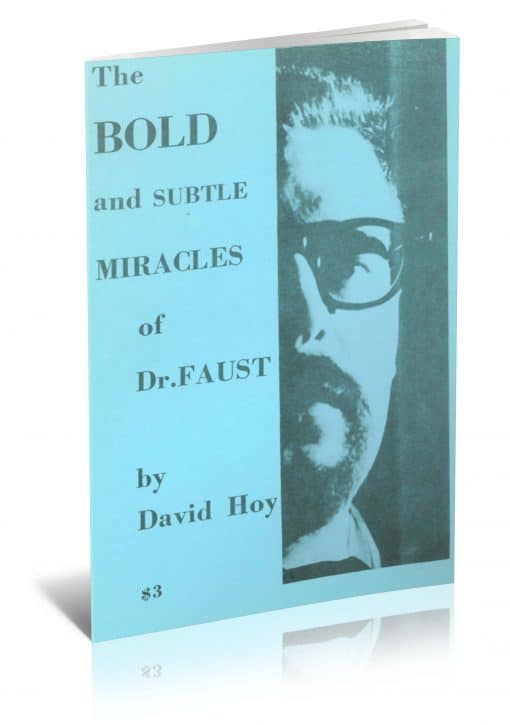 The Bold and Subtle Miracles of Dr. Faust by David Hoy PDF