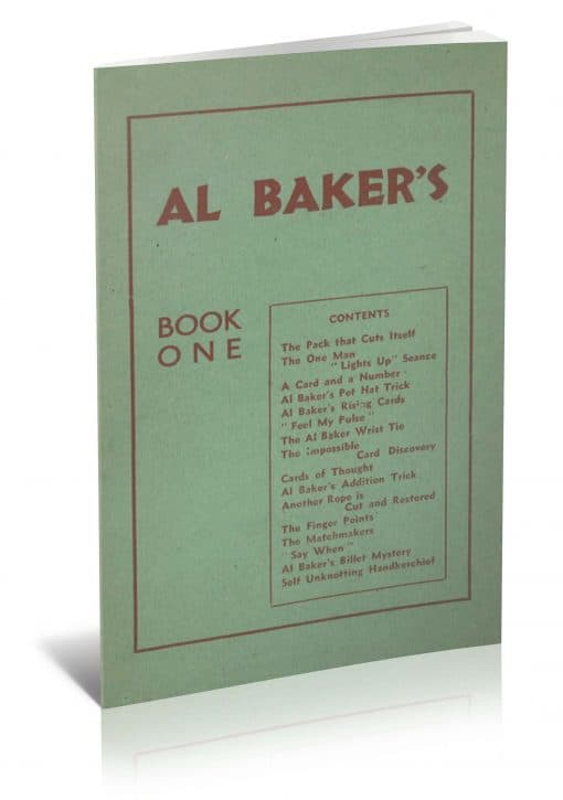 Book One by Al Baker PDF