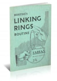 Burtini's Linking Rings Routine by Fabian PDF