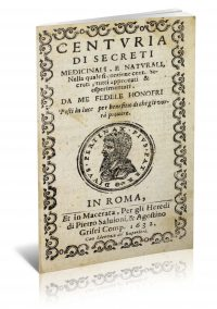 Centvria di Secreti Medicinali e Natvrali by Fedele Onofri