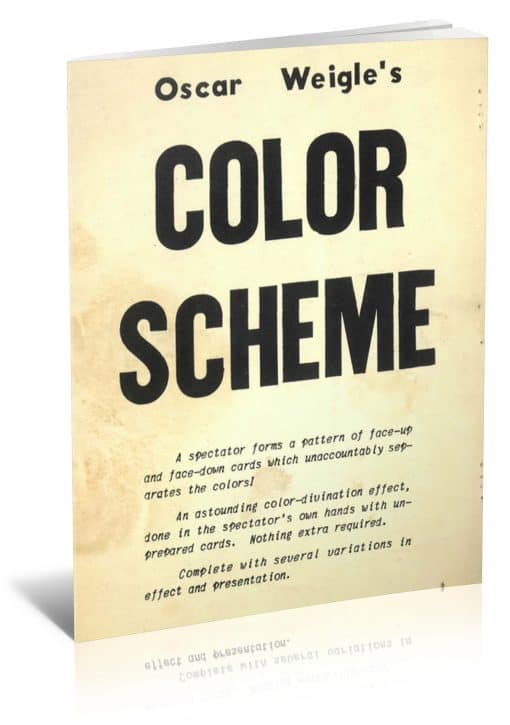 Color Scheme by Oscar Weigle PDF