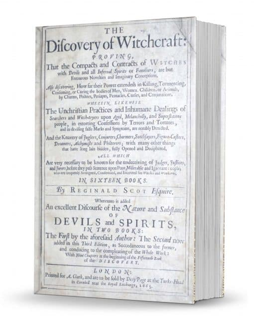 The Discoverie of Witchcraft 3rd edition, with title page B by Reginald Scot PDF