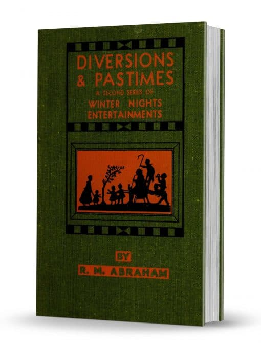 Diversions & Pastimes by R. M. Abraham PDf