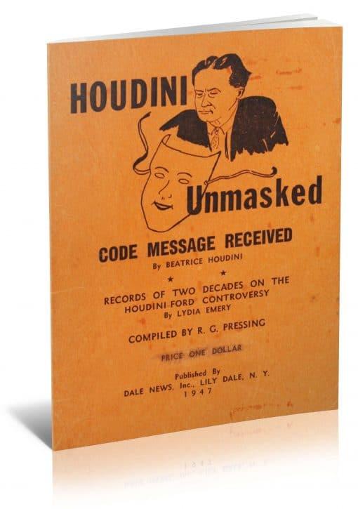 Houdini Unmasked PDF