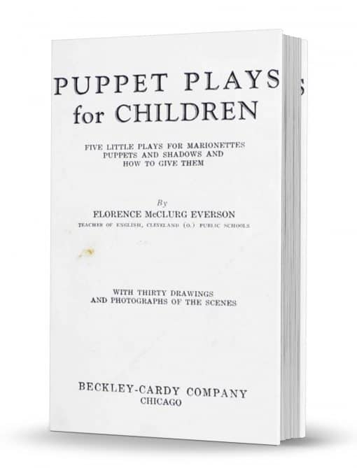Puppet Plays for Children PDF
