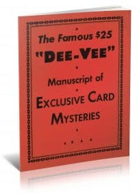 "The Famous $25 ""Dee-Vee"" Manuscript of Exclusive Card Mysteries by Dai Vernon and F. W. Ross PDF"