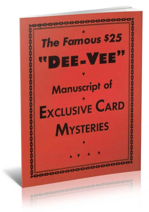 """The Famous $25 """"Dee-Vee"""" Manuscript of Exclusive Card Mysteries by Dai Vernon and F. W. Ross PDF"""