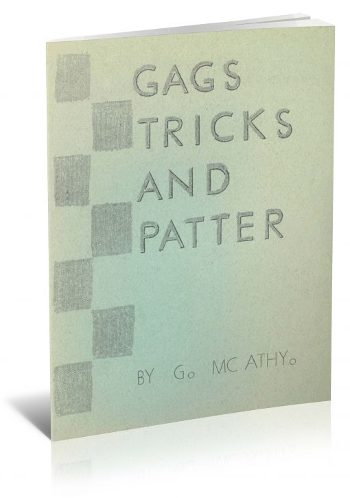 Gags, Tricks and Patter by G. McAthy PDF