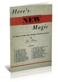 Here's New Magic by Joe Berg PDF