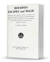 Houdini's Escapes and Magic by Walter B. Gibson PDF