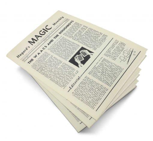 Hugard's Magic Monthly Volume 1 PDF