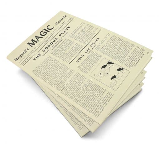 Hugard's Magic Monthly Volume 3 PDF