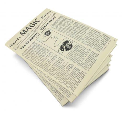 Hugard's Magic Monthly Volume 4 PDF