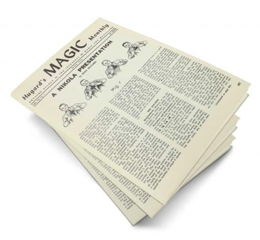 Hugard's Magic Monthly Volume 6 PDF