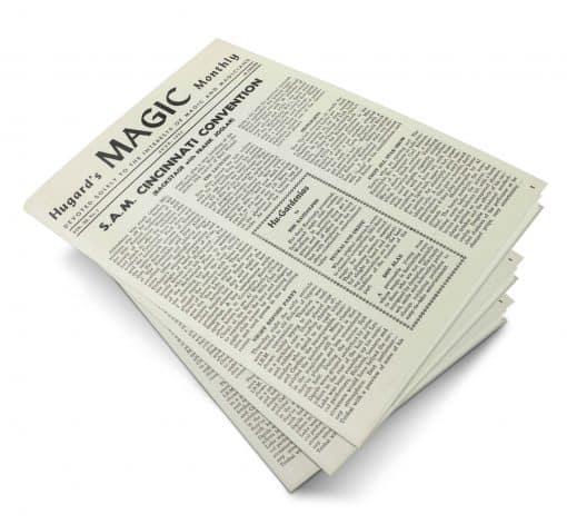 Hugard's Magic Monthly Volume 11 PDF