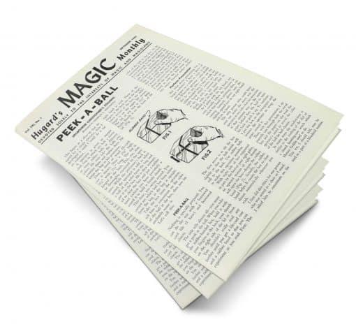 Hugard's Magic Monthly Volume 21 PDF