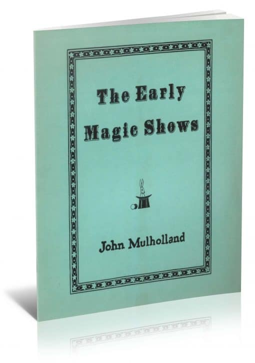 The Early Magic Shows PDF