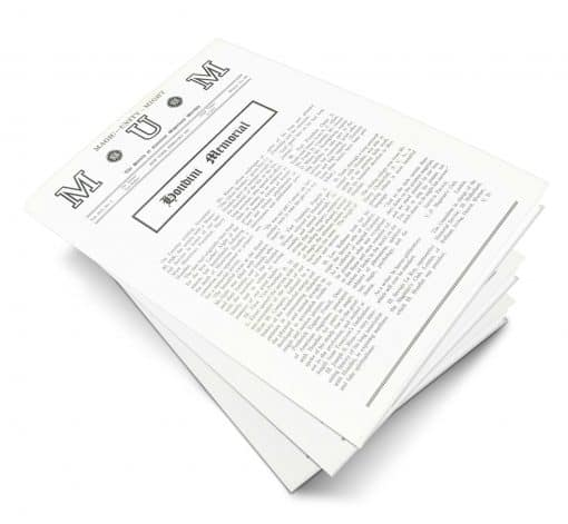 M-U-M Volume 16 PDF