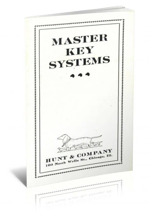 Master Key Systems: Complete Treatise Illustrating Manner to Detect and Read all Coded Cards, Factory Marked, Etc. by unknown PDF