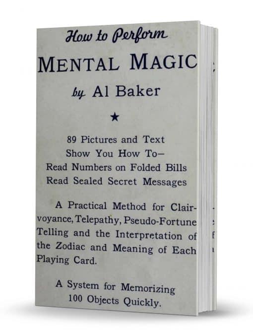 Mental Magic by Al Baker PDF