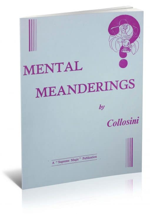 Mental Meanderings by Collosini PDF