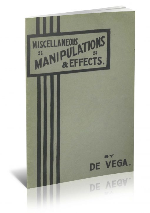 Miscellaneous Manipulations & Effects by De Vega PDF