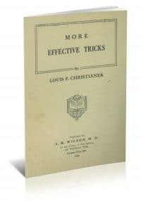 More Effective Tricks by Louis F. Christianer PDF
