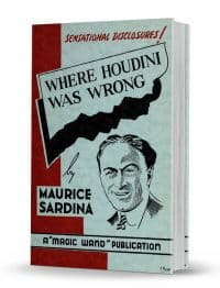 Where Houdini Was Wrong PDF