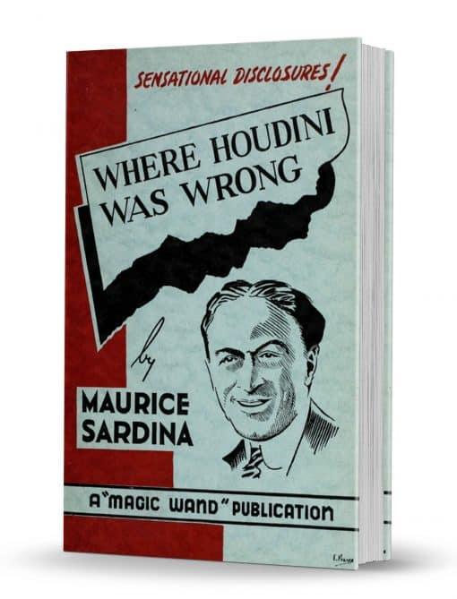 Where Houdini Was Wrong PDF
