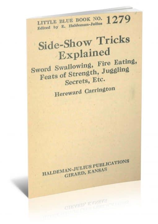Side-Show Tricks Explained by Hereward Carrington PDF