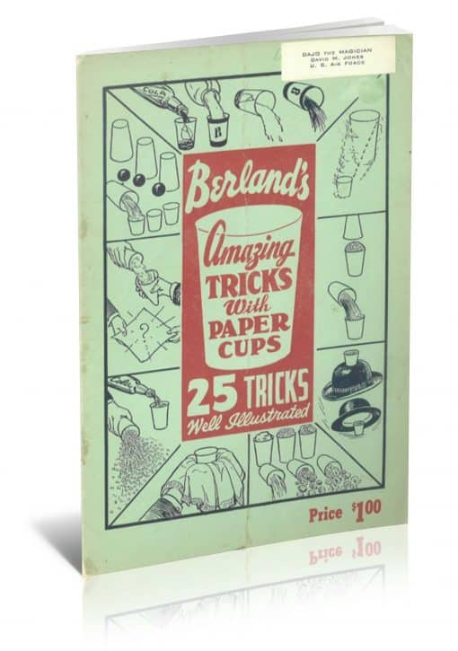 Tricks With Paper Cups PDF
