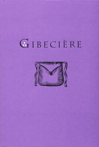 Gibecière 5, Winter 2008, Vol. 3, No. 1