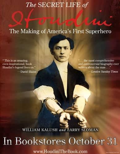 The Secret Life of Houdini - Poster
