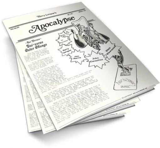 Apocalypse by Harry Lorayne Vol 2 PDF