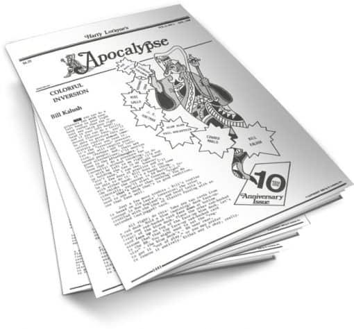 Apocalypse by Harry Lorayne Vol 11 PDF