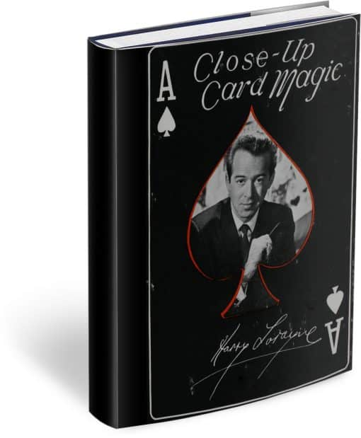 Close-Up Card Magic by Harry Lorayne,Text-Based PDF with Bookmarks
