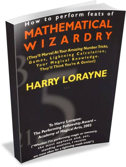 Mathematical Wizardry by Harry Lorayne Text-Based PDF with Bookmarks