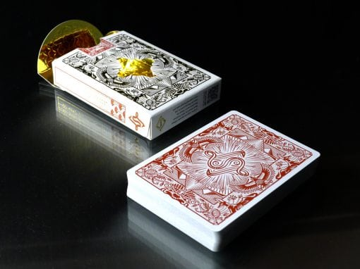 Egyptian Legends - Red by Legends Playing Card Company