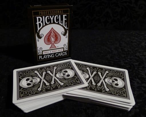 Skull and Bones Stripper Deck only $19.99 postpaid in the U.S.