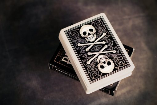 DOZEN Skull and Bones - Ivory (Blood Red and Black)