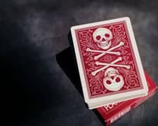 Skull and Bones - Blood Red - Ivory