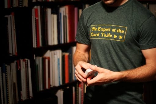 Expert at the Card Table T-Shirt